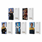 OFFICIAL STAR TREK ICONIC CHARACTERS VOY LEATHER BOOK CASE FOR SONY PHONES 2