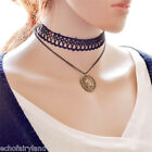 1 Pc Women Short Lace Clavicle Pendant Collar Necklaces Jewelry Accessories