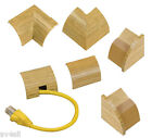 D-Line 22x22 1/4 Sphere Trunking Accessories Light Oak All Types