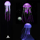 Glowing Effect Aquarium Artificial Jellyfish Ornament Fish Tank Decoration Chic
