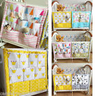 Внешний вид - Baby Cot Bed Crib Nursery Hanging Storage Organizer Bag for Toy Diaper Clothes