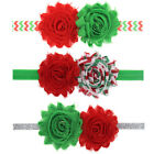 Baby Girl Flower Hair Band Ornaments Flash Elastic Christmas Children Headband