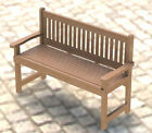English Style Garden Bench Woodworking Project Plans-Blueprint  DIY