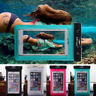 Waterproof Bag Underwater Pouch Dry Case Cover For iPhone Cell Phone Touchscreen