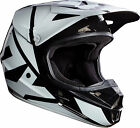 NEW 2017 FOX RACING V1 RACE MX DIRT BIKE MOTOCROSS HELMET BLACK ALL SIZES