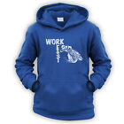 Work Rest MotoCross Kids Hoodie -x9 Colours- Trials MotoX Championship Comp