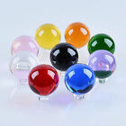 LONGWIN 50mm Quartz Crystal Ball Sphere Healing Crystals Photo Props Free Stand