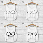 HP New Women Sexy 3D Printing Infinito Sleeveless Summer Vest Top Free Size