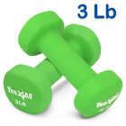 Yes4All Neoprene Coated Dumbbells Hand Weight Sets Non-Slip Grip 2 - 20 lbs Pair фото