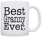 Mother's Day Gift for Grandma Best Granny Ever Mom Coffee Mug Tea Cup
