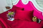 100% Mulberry Silk Pillowcase 1PC 19mm Standard Queen King Seamless - 8 colors