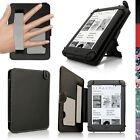 """PU Leather Skin Folio Case for Amazon Kindle 6"""" 2016 (8th Gen) Stand Flip Cover"""