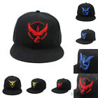 Hot Pokemon Go Baseball Hat Team Mystic InstInct Valor Embroider Cap Cosplay Hat