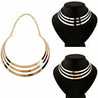 Sexy Womens Gold Plated Tassel Pendant Chunky Long Chain Necklace Jewelry Gifts