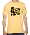 Why The Long Face Funny Graphic American Apparel Fine Jersey T-Shirt RC12982