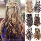 New Available Hairpiece Clip in Full Head Hair Extensions 18clips ins human sn01