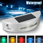 Outdoor Waterproof Solar Power 6 LED Light Road Driveway Dock Ground Step Lamp