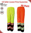 Hi Vis Insulated Safety Bomber Reflective Pants Road Work HIGH VISIBILITY