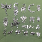 Kyпить Lot Vintage Tibet Silver Peacock Elephant Animal Pendant Charms Jewelry Findings на еВаy.соm