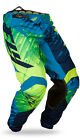 FLY Racing Kinetic Glitch 2015 Youth MX/Offroad Pants Blue/Hi-Vis