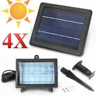 4XSolar 30 LED Outdoor Garden Spot Flood Light Ultra Bright Lawn Lamp Waterproof