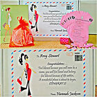 Baby Shower Gifts/ Games/ Keepsake / MUM to be Gift PERSONALISED (Pink Colour)