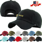 Henny Embroidery Dad Hat Baseball Cap Unconstructed