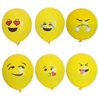 100/1pcs Round Balloons Multi Kinds Emoji Smiley Face Pattern Latex Balloons JR