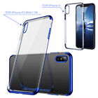 For Apple iPhone X/8/7 Plus Ultra Thin Transparent Clear Shockproof Bumper Case фото