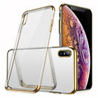 For Apple iPhone XS MaxXRXSX87Plus Transparent Clear Shockproof Cover Case
