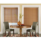 NEW Maple Light Brown Faux Wood Blinds - 2in Wide Slats