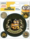 Despicable Me Minions Pirates Sticker Pack 10x12.5cm