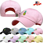 Pineapple Dad Hat Baseball Cap Unconstructed Adjustable Polo Style