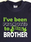 Promoted to BIG BROTHER Custom print Boys T-shirt, Cotton. New baby announcement