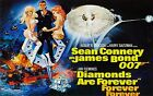 Home Wall Ar Print - Vintage Movie Poster - DIAMONDS ARE FOREVER - A4,A3,A2,A1 £4.99 GBP