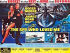 Home Wall Art Print - Movie Film Poster - THE SPY WHO LOVED ME - A4,A3,A2,A1 £5.99 GBP on eBay