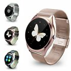 Waterproof Bluetooth4.0 Smart Watch Heart Rate for IOS Android Samsung iPhone 7