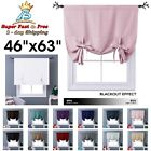 Thermal Drapes And Curtains Tie Up Shades Short Blackout Curtains Kitchen 63
