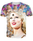 New Fashion Womens/Mens Star third eye Awakens Funny 3D Print T-Shirt US40