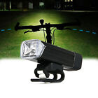 CREE XPE LED USB Rechargeable Cycling Front Bicycle Bike Light Lamp 180Lumens+
