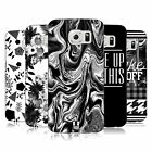 HEAD CASE DESIGNS BLACK AND WHITE TRENDS HARD BACK CASE FOR SAMSUNG PHONES 1