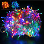 100/200/300/400/500 LED String Fairy Lights for Christmas Xmas  Party Multicolor