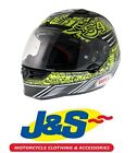 BELL STAR CARBON TAGGER DEISIGN HELMET MOTORBIKE MOTORCYCLE TRACK RACE J&S