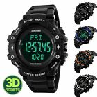 SKMEI Pedometer Timer Military Outdoor Men's Digital Multifunction Sport Watches