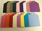 30 Small Gift tag embellishments create your own tags labels pinks purples blues