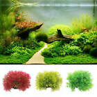 Fish Tank Decor Landscaping Ornament Grass Aquarium Plastic Water Plants Gift