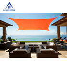 Waterproof Sun Shade Sail Alion Home© Brand Polyester Tangerine Orange (6 Sizes)
