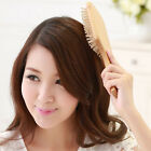 Wooden Comb Vent Paddle Brush Keratin Health Hair Care Spa Massage Antistatic JR