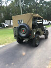 1952 WILLYS M38 MILITARY FLAT FENDER JEEP - RUST FREE - RESTORED AND READY TO GO