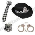 WPC POLICEWOMAN POLICE LADIES FANCY DRESS COSTUME ACCESSORIES HEN PARTY LOT